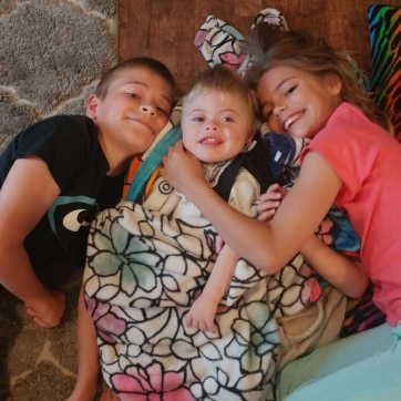 Will, Sam, and, Abby