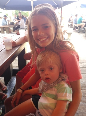 Sam and Abby in Stillwater