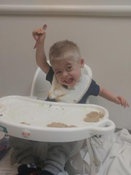 Sam at Children's Feeding Clinic