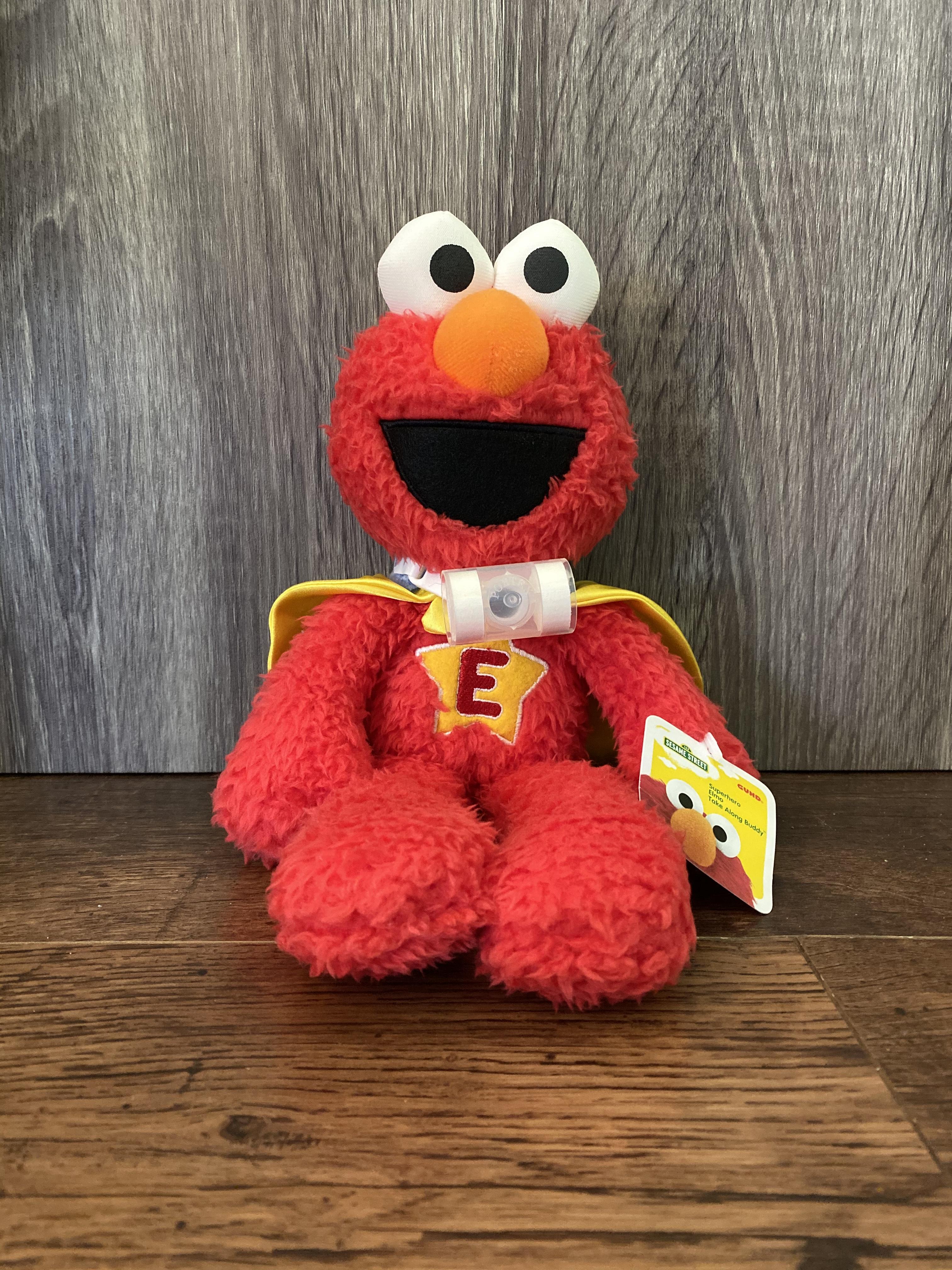 Elmo with a trach