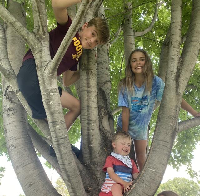 Will (13), Abby (12), Sam (4)